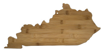 Kentucky Shaped Bamboo Cutting Board 18""