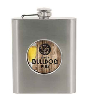 "6 oz. Stainless Steel 2"" Insert Holder Flask"