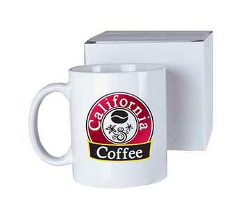11 oz. White Sublimatable Ceramic Mug