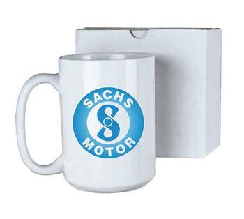 15 oz. White Sublimatable Ceramic Mug