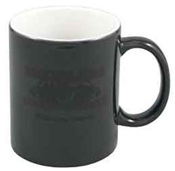 11 oz. Black/White Color Changing Ceramic Mug