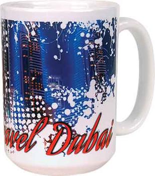 15 oz. White Dye Sublimate Ceramic Mug
