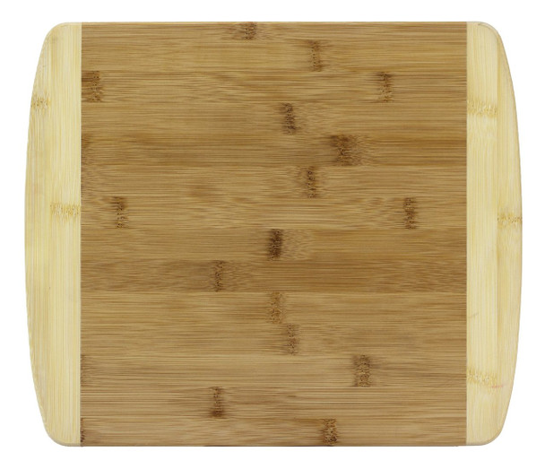 """Engraved Two-Tone Bamboo Cutting Board 13"""""""