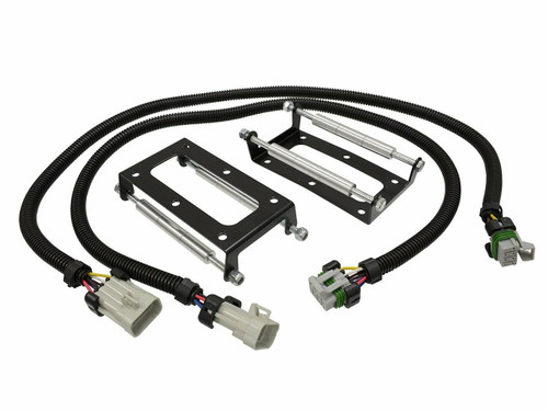 "LS2 LS3 LS4 LS7 LS9 Coil Pack Relocation Kit Bracket Mount -  LSX Powdercoated Black with 36"" Harnesses"