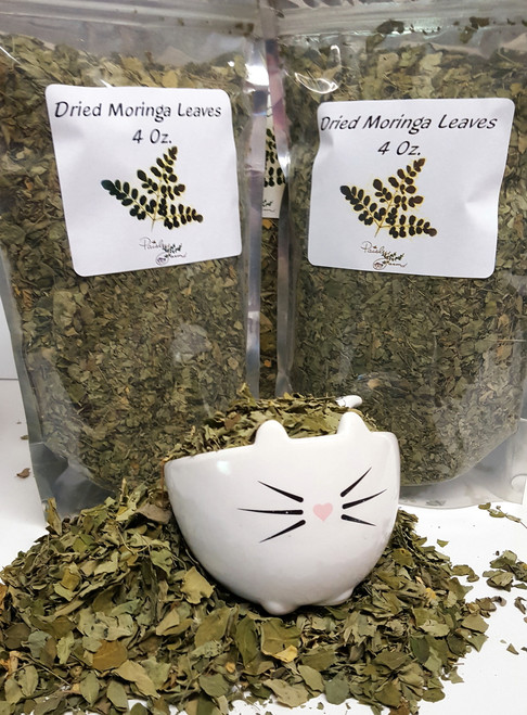 Dried Loose Moringa Leaves (32 Oz)