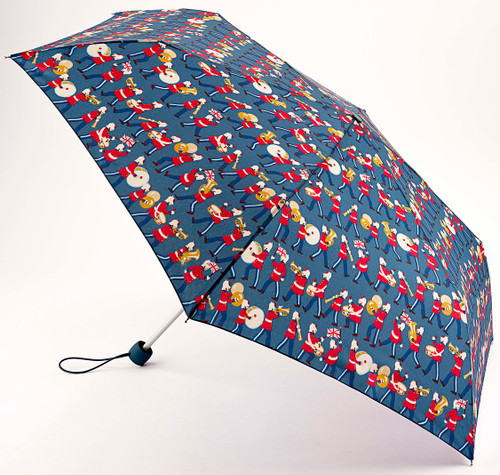 Cath Kidston Marching Band Slim Compact Folding Umbrella & Matching Cover