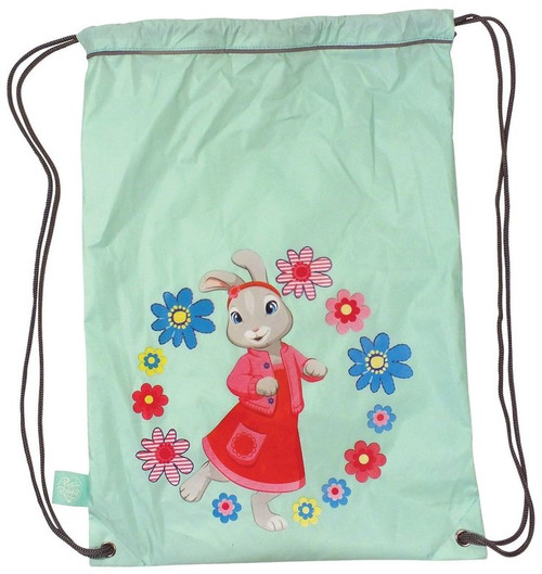 Peter Rabbit Friends Lily Bobtail Mint Green Waterproof Boot Bag Adventurer BBC