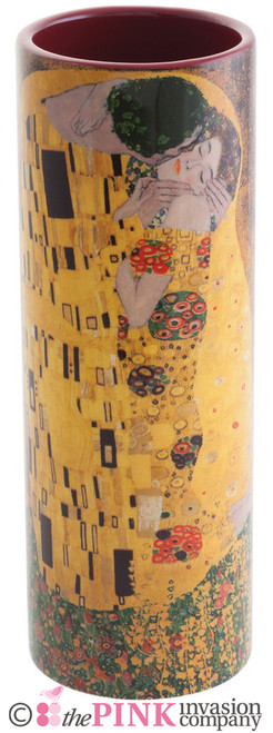 JOHN BESWICK KLIMT THE KISS CERAMIC ART VASE PARASTONE