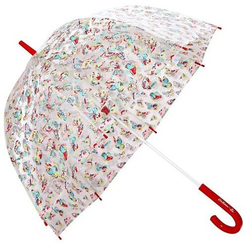 Cath Kidston Butterflies Ladies Birdcage Domed Walking Umbrella 94cm Long