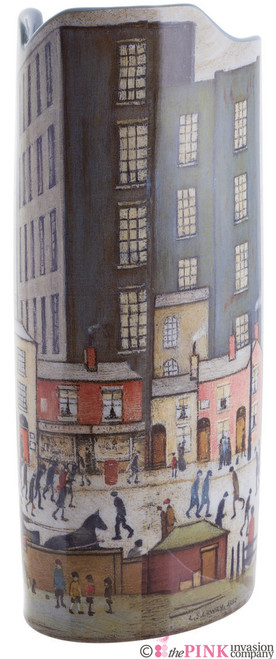 JOHN BESWICK LOWRY COMING FROM THE MILL CERAMIC ART VASE PARASTONE
