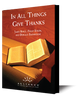In All Things Give Thanks (mp3 Disc)