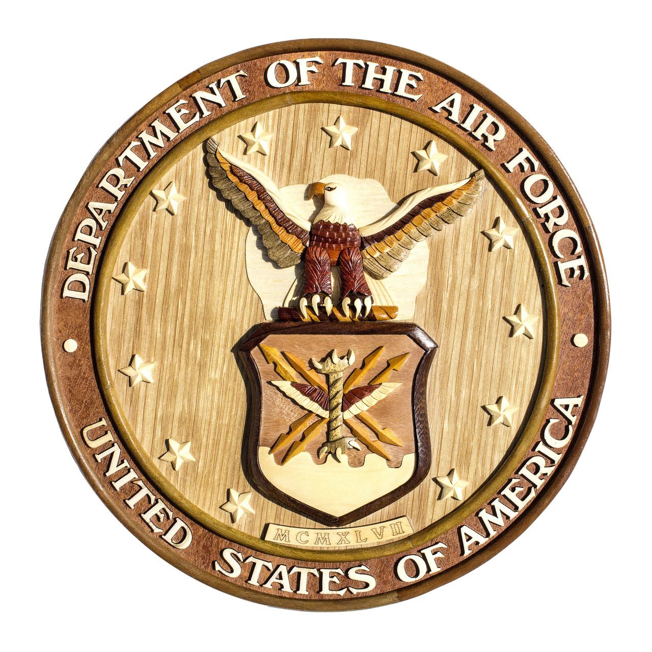U.S. Air Force Insignia - Aloha Wood Art