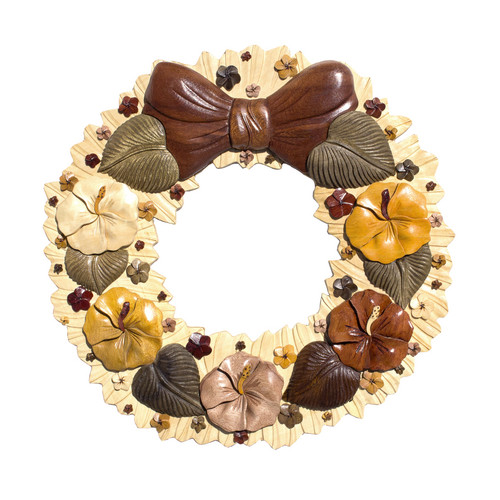 Hawaiian Flower Wreath