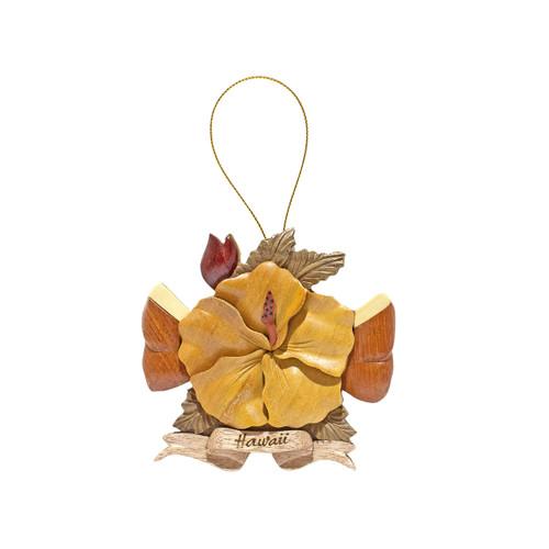 Hibiscus Flower - Ribbon
