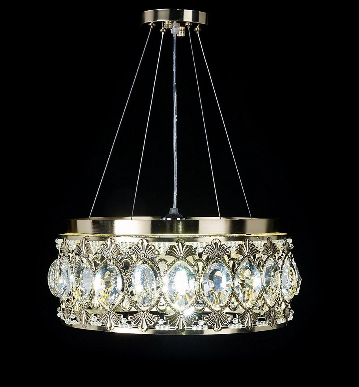 Diamond life gold finish modern crystal chandelier pendant hanging diamond life gold finish modern crystal chandelier pendant hanging or flush mount ceiling lighting fixture aloadofball Gallery