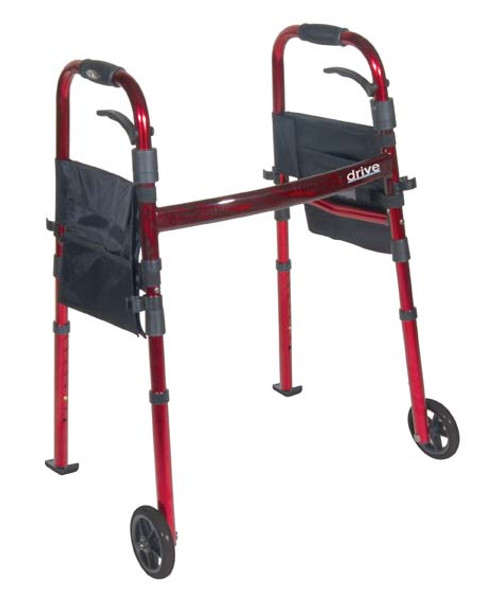 Drive Medical Deluxe Folding Travel Walker