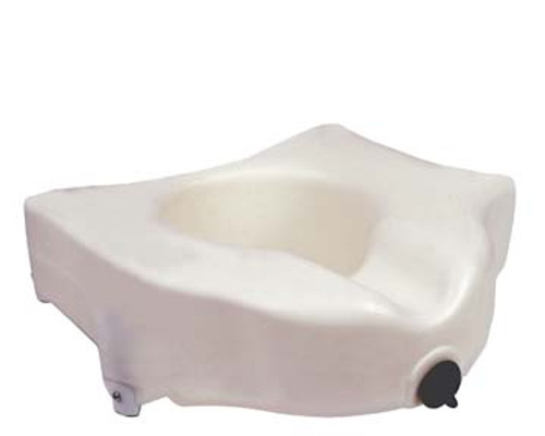 Drive Medical Locking Elevated Toilet Seat without Arms