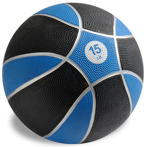 Exertools 15 pound Hard Shell Exball (Medicine Ball)