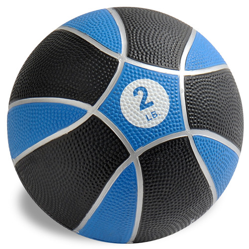 Exertools 2 pound Hard Shell Exball (Medicine Ball)
