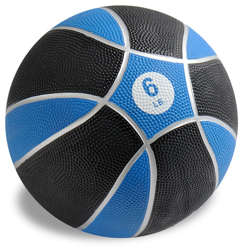 Exertools 6 pound Hard Shell Exball (Medicine Ball)