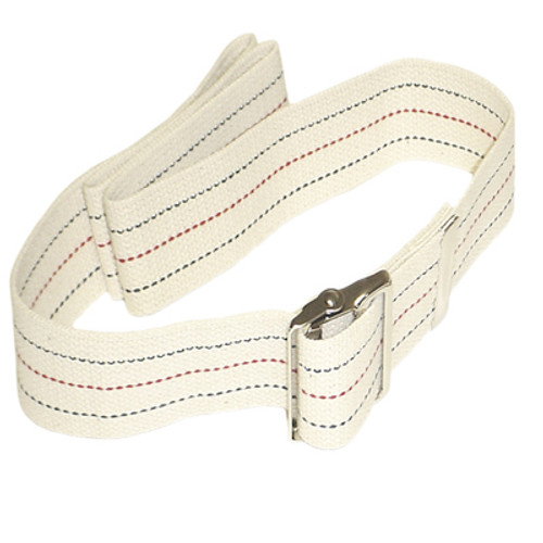 Gait Belt with Medal Buckle