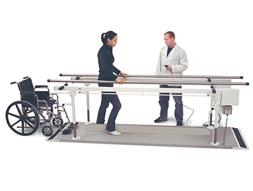 Hausmann Power Height and Width Parallel Bars - 10ft
