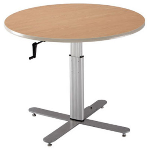 Adjustable Large Round Table