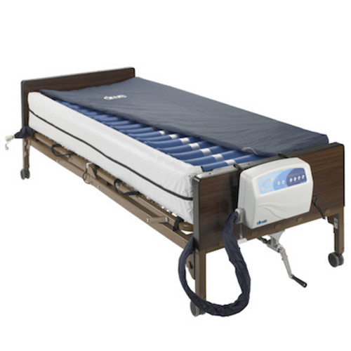 "Med-Aire Plus 8"" Alternating Pressure and Low Air Loss Mattress System with 10"" Defined Perimeter"