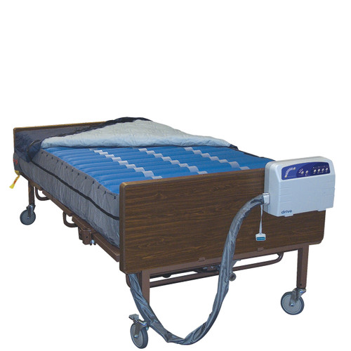 "Med-Aire Plus 10"" Bariatric Alternating Pressure and Low Air Loss Mattress Replacement System"