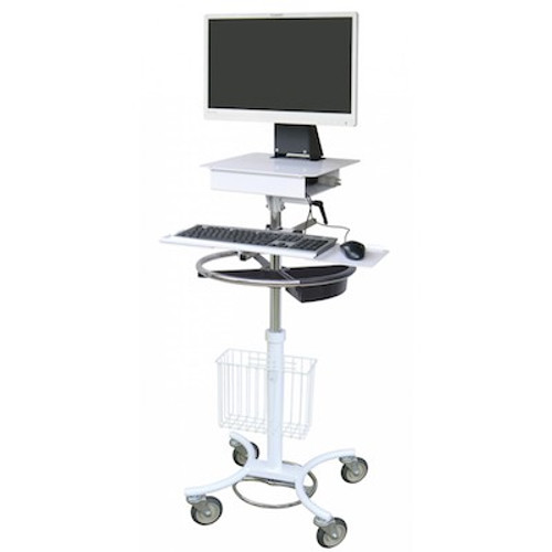 Omnimed All-In-One Computer Stand