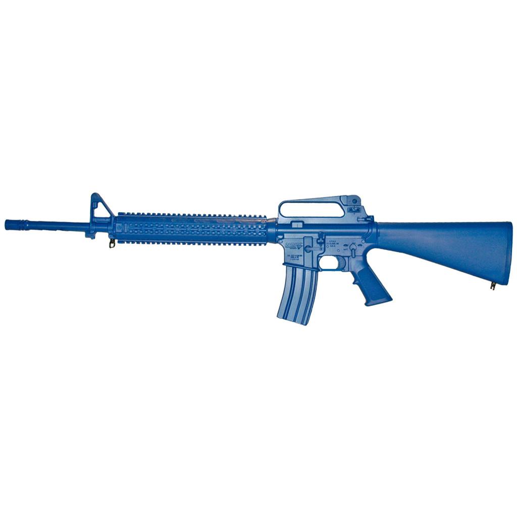 AR15 w/ Rail   Blue Gun