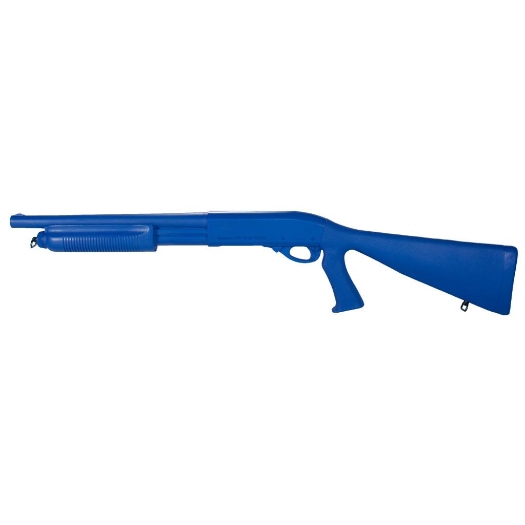 Remington 870 w/ Grip   Blue Gun