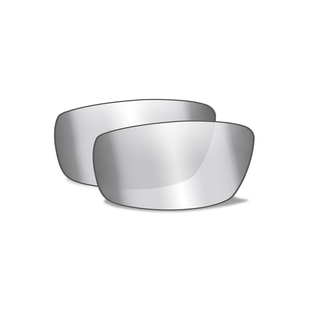Brick   Silver Flash Lens w/ Crystal Metallic Frame