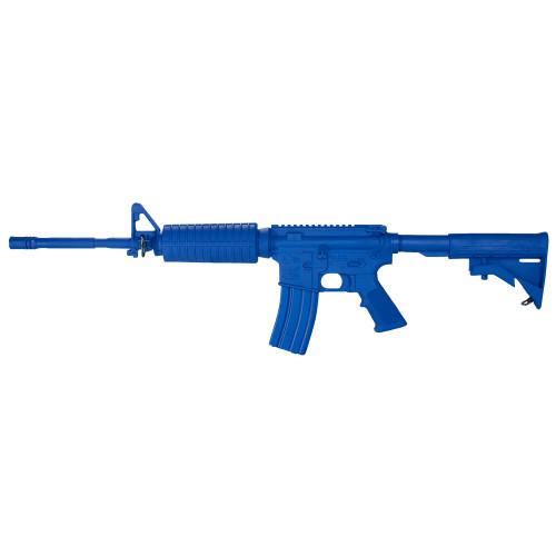 Colt M4 Flat Top Open   Blue Gun
