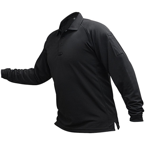 Mens Coldblack L/S Polo