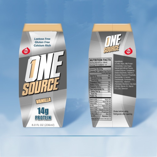 ONEsource New Vanilla 8oz