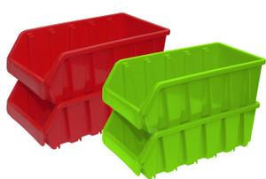 Plastic Storage Stacking Bins