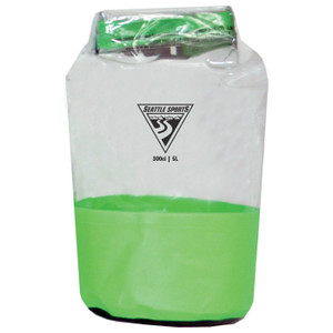 GLACIER CLEAR DRY BAG LIME 5L