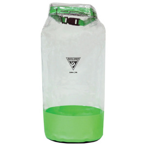 GLACIER CLEAR DRY BAG LIME 21L
