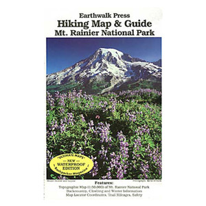 MT RAINER NP HIKING MAP & GD
