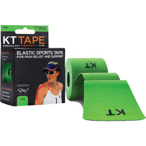 KT TAPE PRE-CUT LIME GREEN