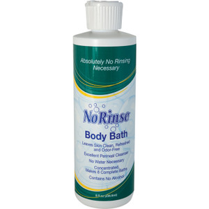 NO-RINSE BODY BATH 8 OZ