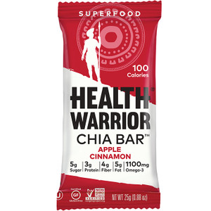 CHIA BAR APPLE/CINNAMON - 15ct. Case