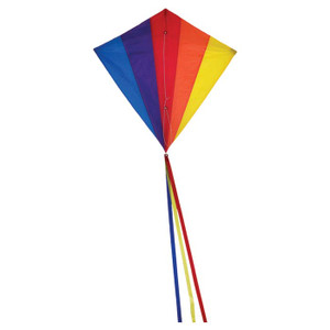"DIAMOND KITE 30"" RAINBOW"