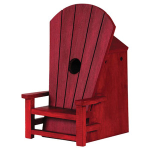 ADIRONDACK CHAIR BIRDHOUSE