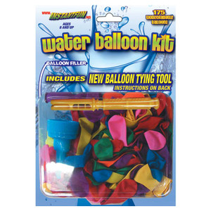 WATERBALLOON REFILL (175 pc)