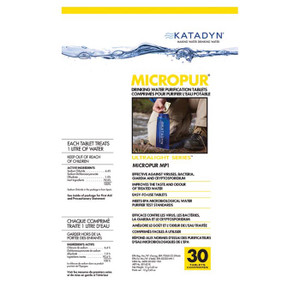 MICROPUR TABLETS 20 PK