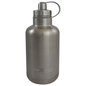 BOSS INSULATED 64 OZ SILVER