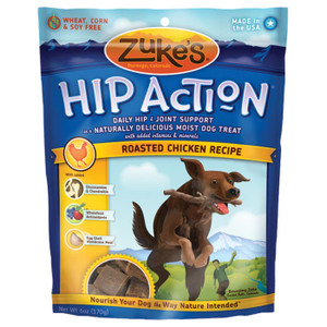 HIP ACTION CHICKEN TREATS 6 OZ