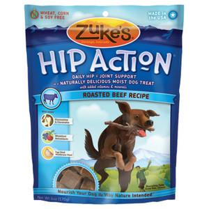 HIP ACTION BEEF TREATS 6 OZ